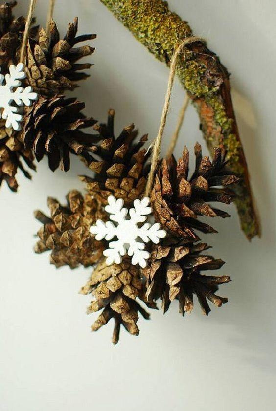 Pine Cone Stars