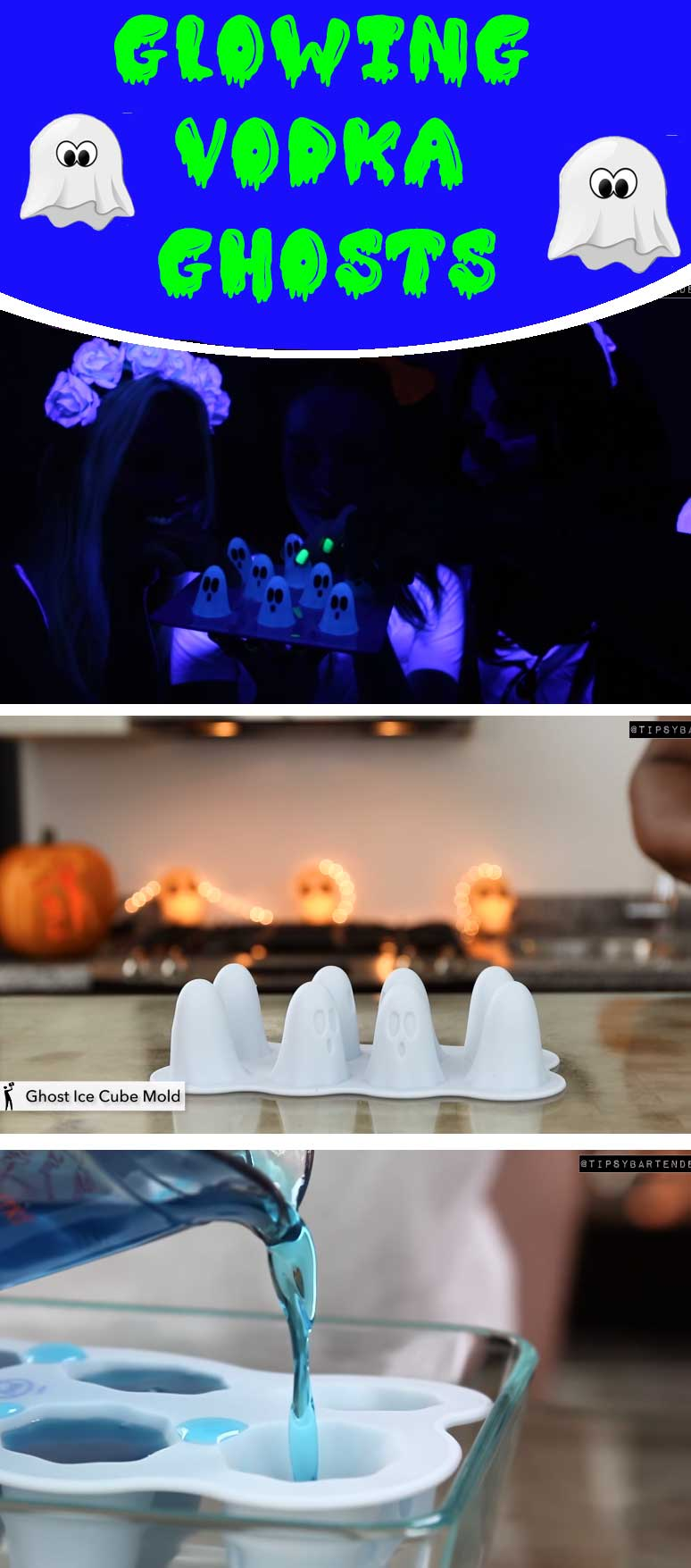 Glowing Vodka Ghosts