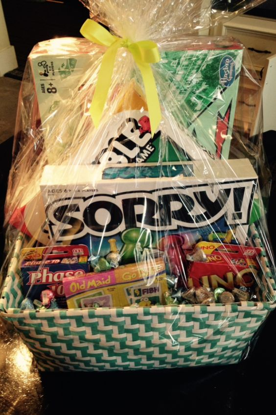 Family Game Night Gift Baskets