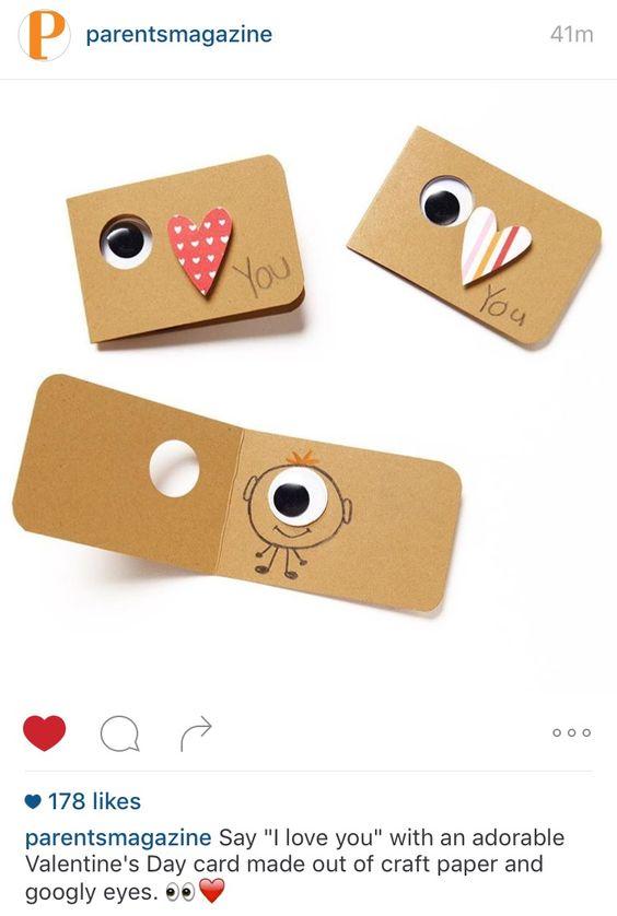 Googly Eye Valentines
