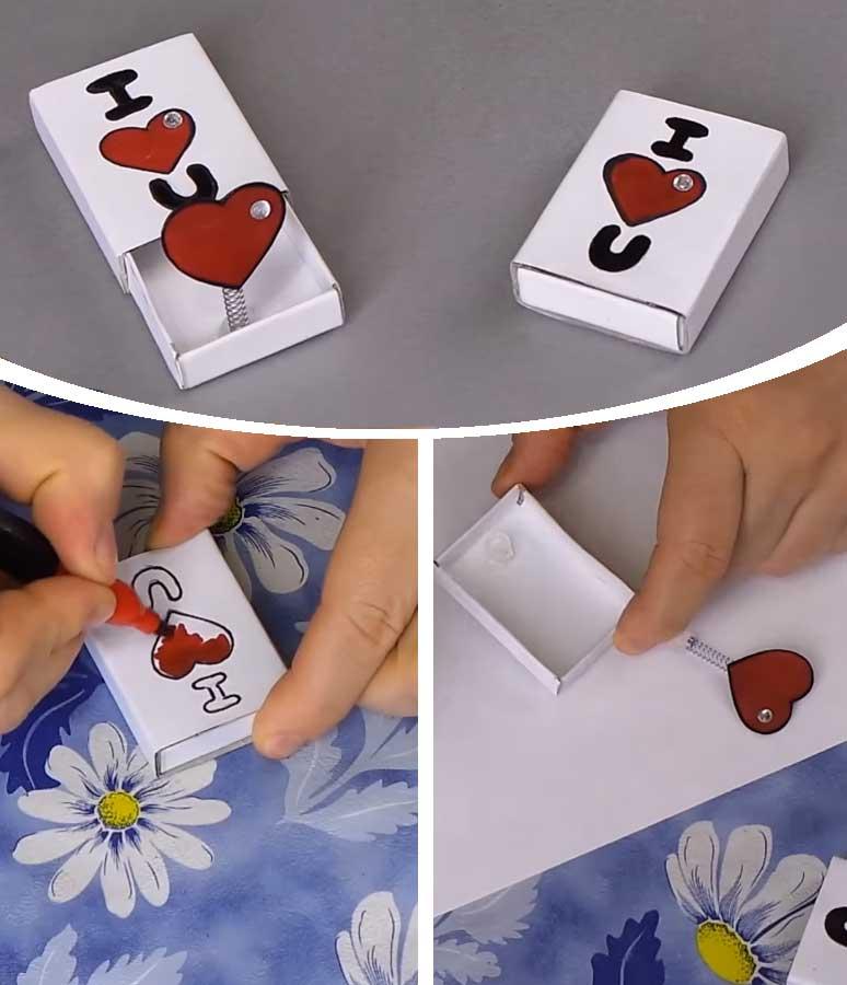 Matchbox Pop-up Card