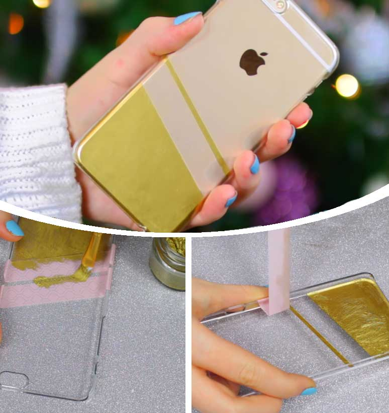 Gold Leaf Phone Case