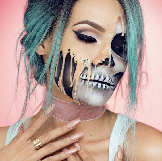 halloween makeup looks scary