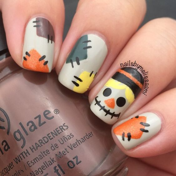 DIY Halloween Nail Designs
