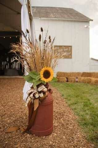 Wheat in Urn
