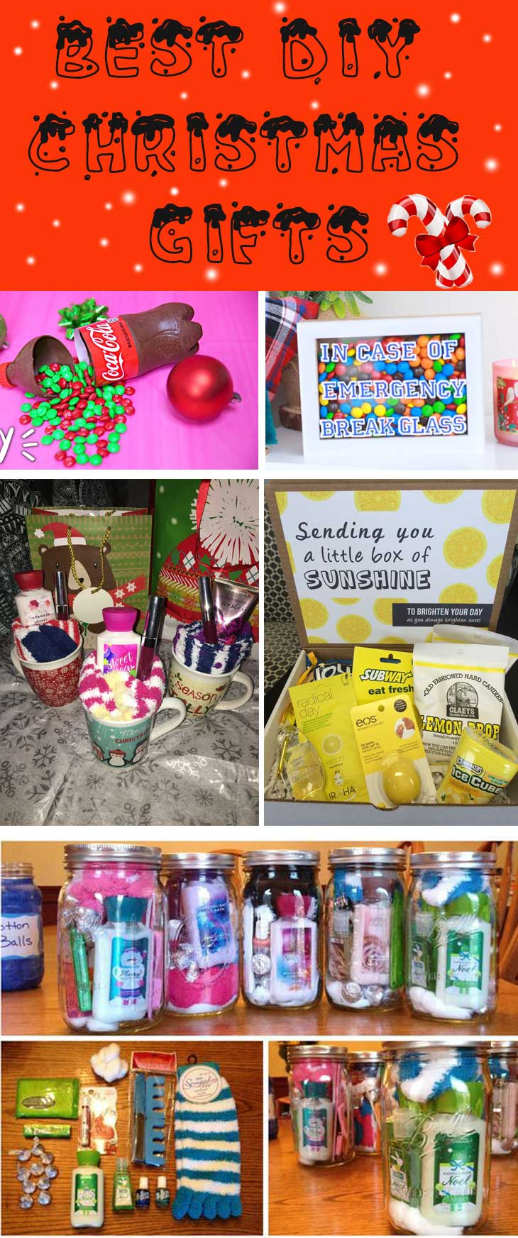 Diy Christmas Gifts For Friends Diy Sweetheart