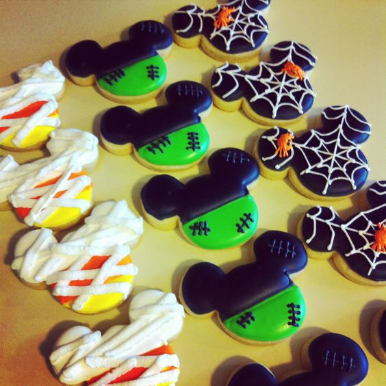 Disney Halloween Cookies