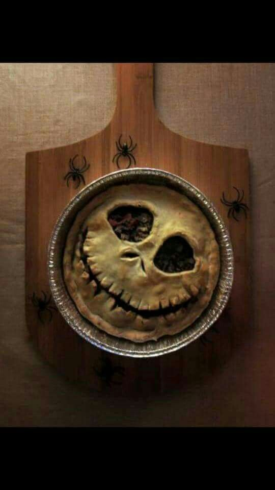 Jack Skellington Pie
