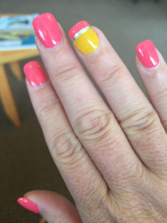 Pencil Tips Nail Designs