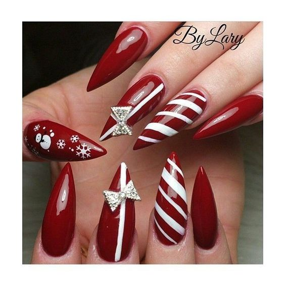 fun festive nails for new years