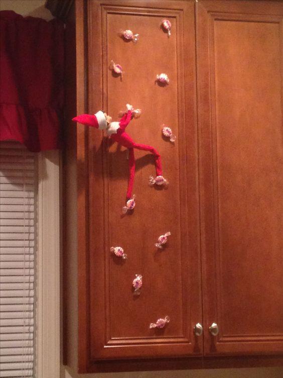 Peppermint Climbing Wall