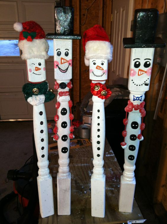 DIY christmas porch decorations