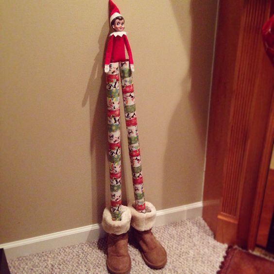 Wrapping Paper Stilts