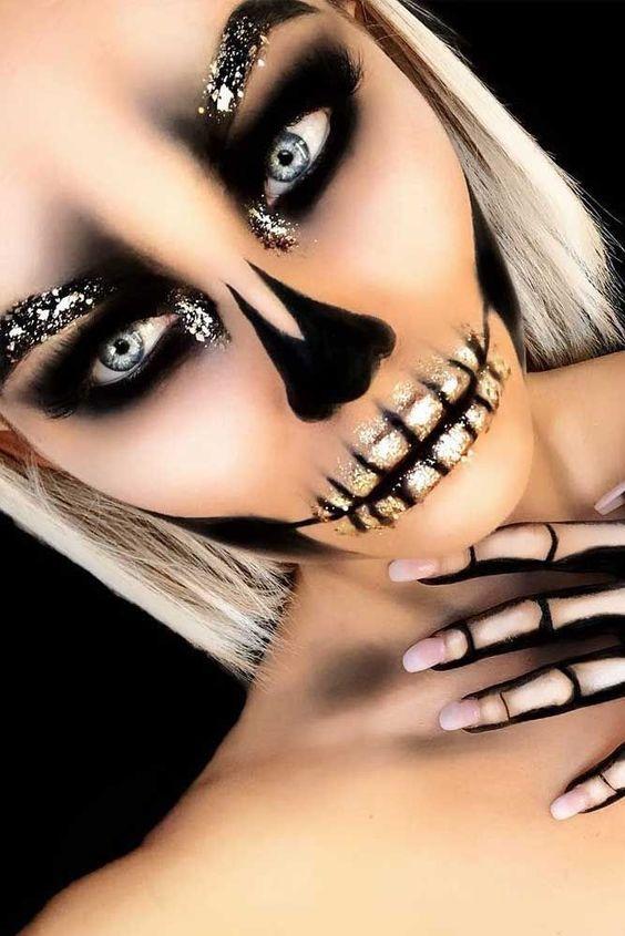 Glitter Skeleton