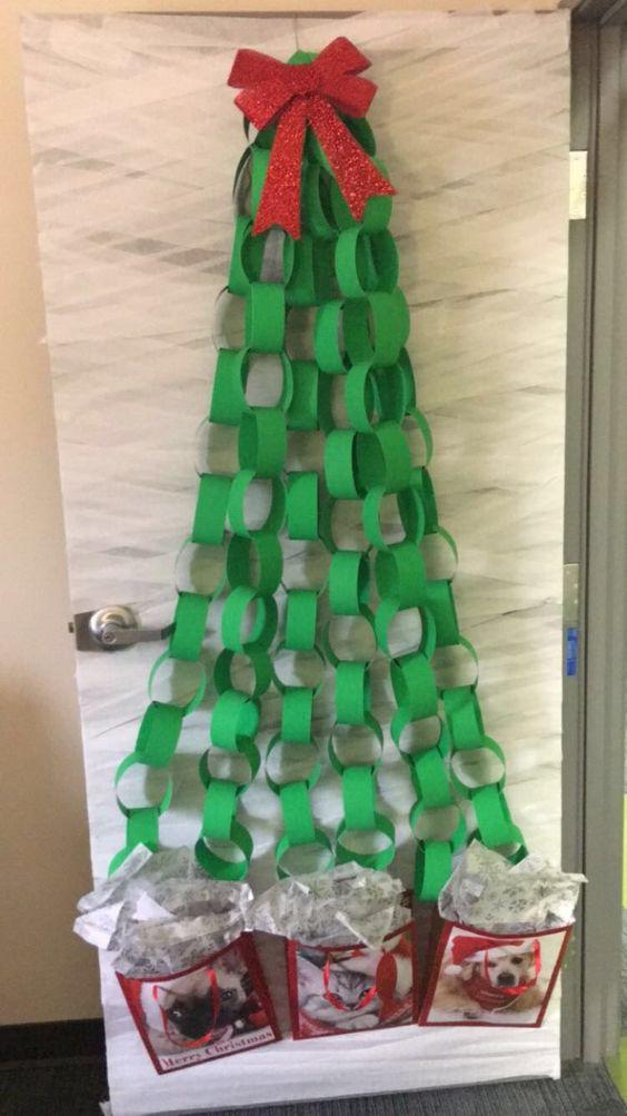 Paper Chain Tree