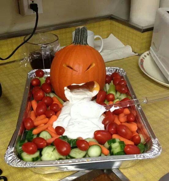Pumpkin Veggie Dip