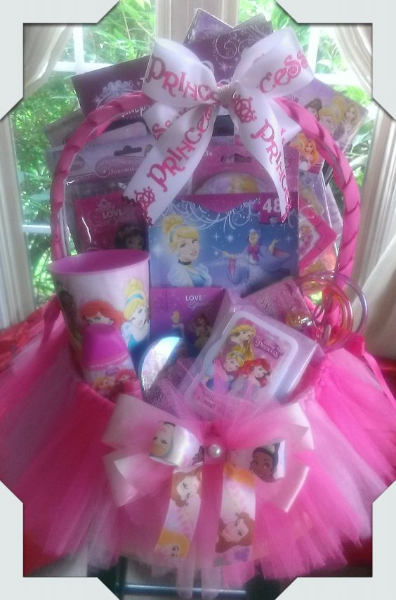 Disney Princess Gift Basket