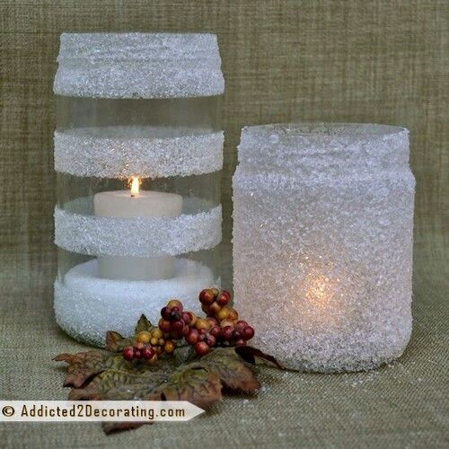 Snowy Jar