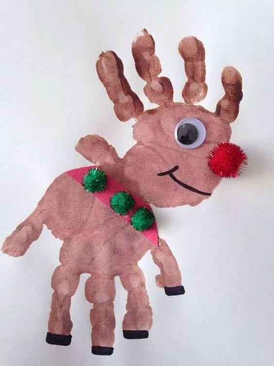 Handprint Deer