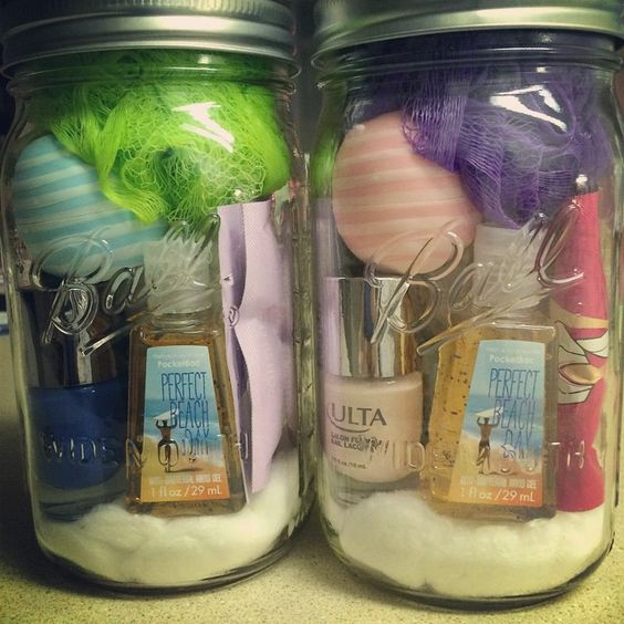 Spa Day in a Jar