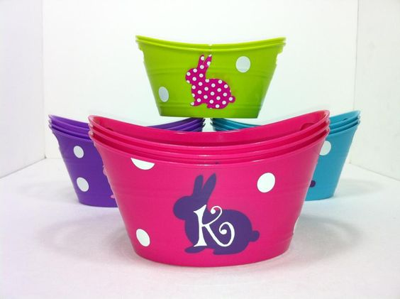 Easter Tubs
