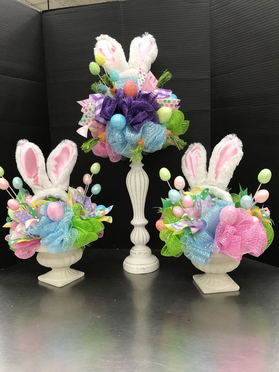 Rabbit Ears on Canldesticks