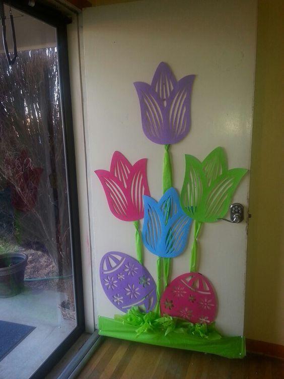Tulip Door Decor