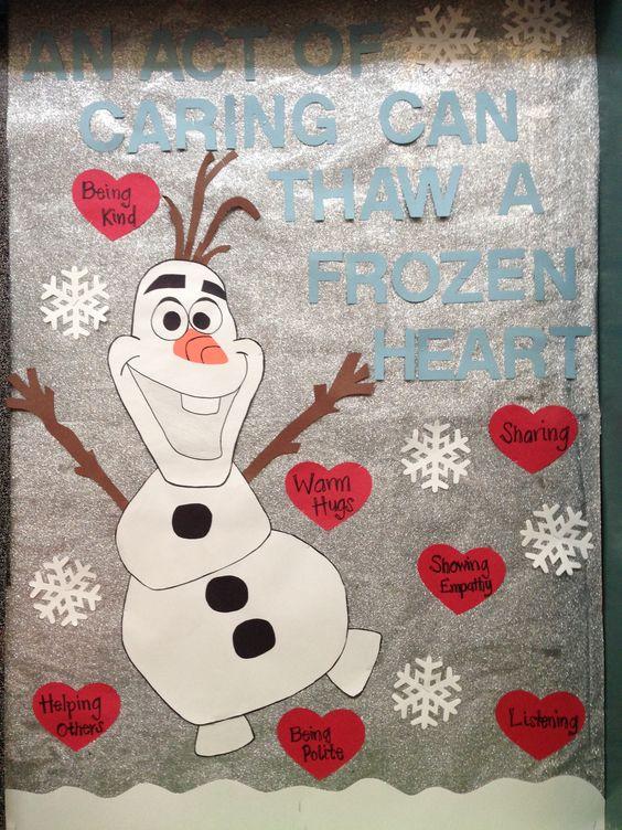 Valentines bulletin board