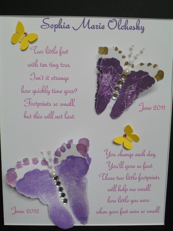 Butterfly Footprints