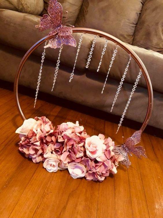 Jeweled Hula Hoop Ring