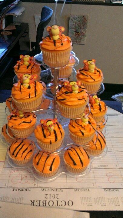 Tigger Cupcakes