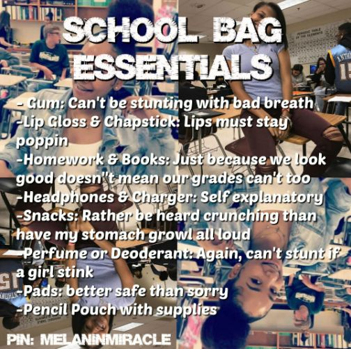 School Bag Essentials