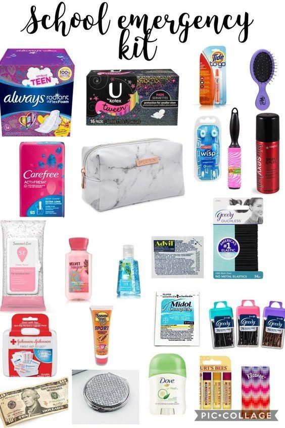Back to School Emergency Kit