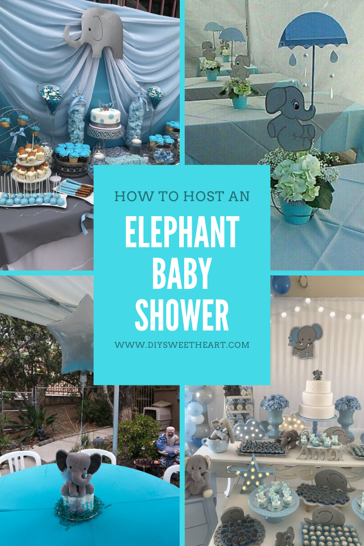 Diy Elephant Baby Shower Ideas Diy Sweetheart