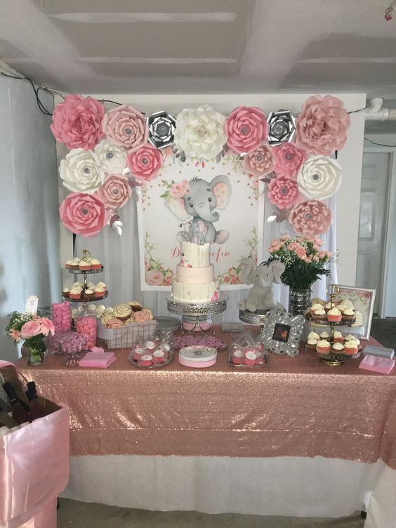 DIY Elephant Baby Shower Ideas