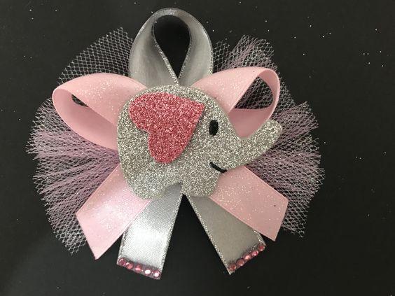 Elephant Shower Pin
