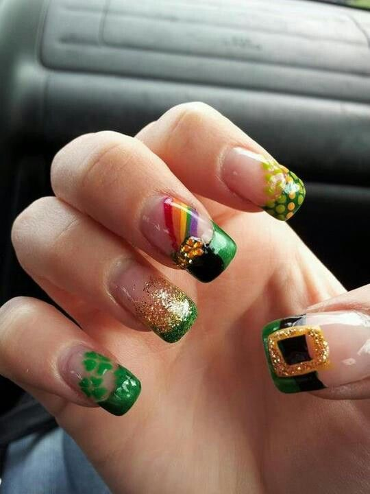 Pot O Gold Nails