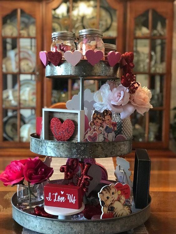 Valentines Tray