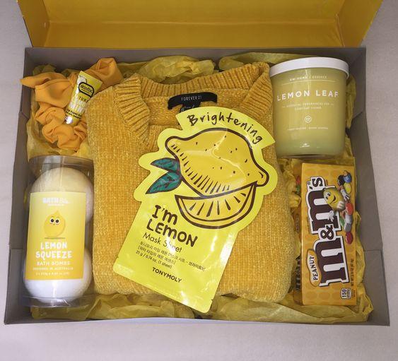 Birthday Gift Baskets - Sunshine box