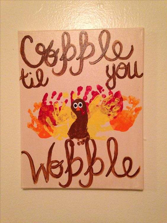 Thanksgiving Crafts for Kids to Make