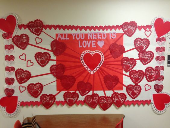Great Valentine's Day Board idea