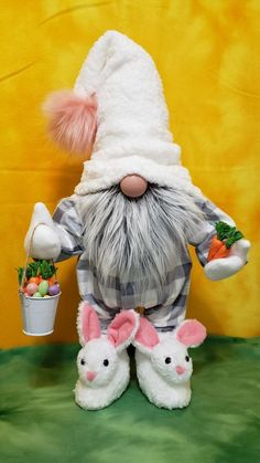 How to Make an Easter Gnome