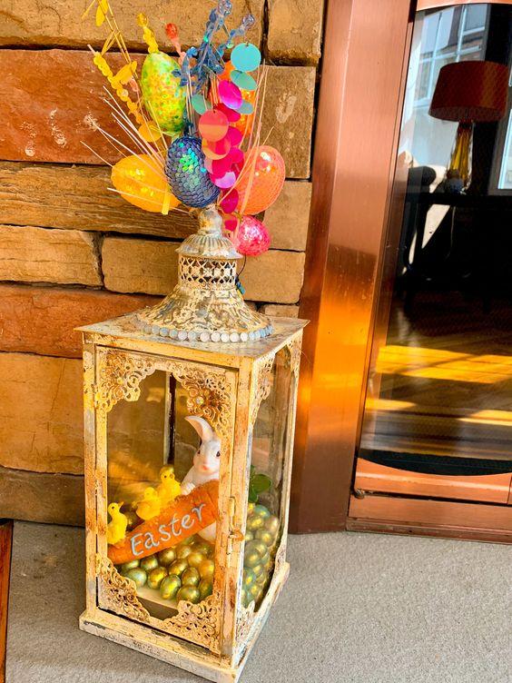 Easter Lantern Decoration