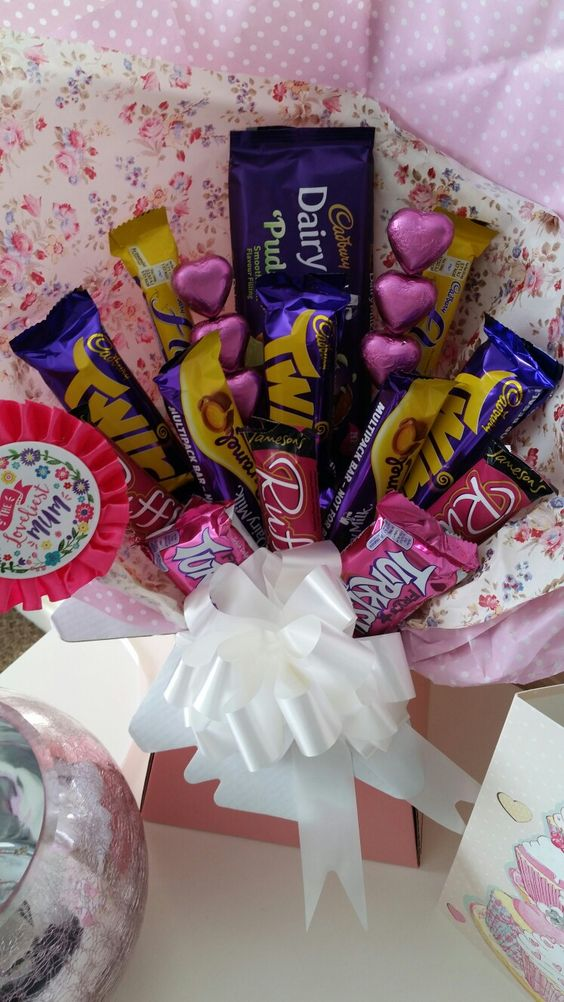 Mothers Day Candy Bouquet Ideas