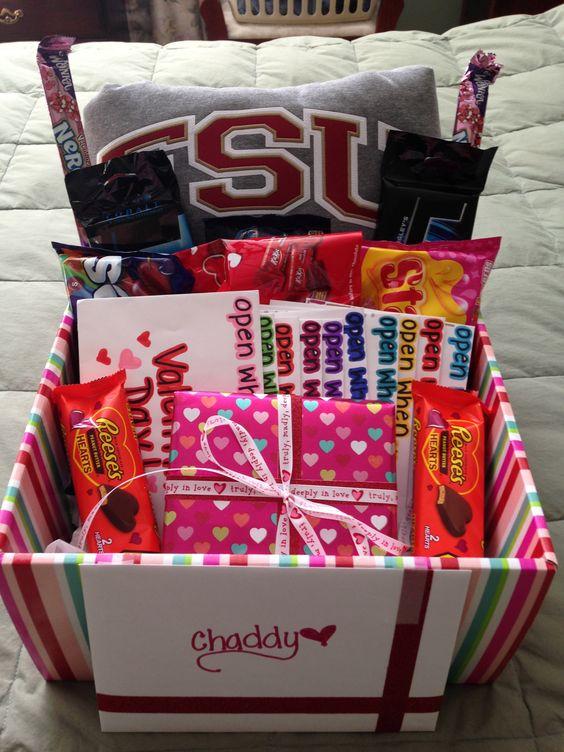 Valentines Day Gift Basket Ideas